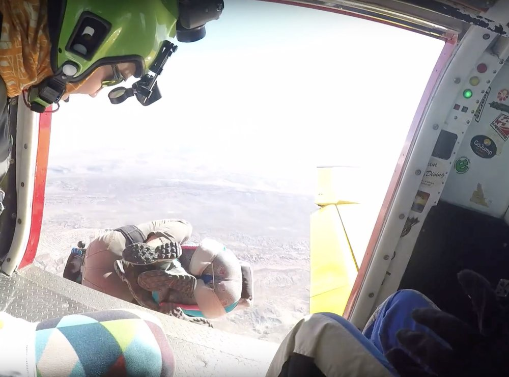 skydiving in moab utah for their wedding day | day after elopement adventure at skydive moab