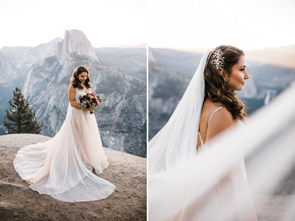 Yosemite National Park Destination Elopement Yosemite Wedding
