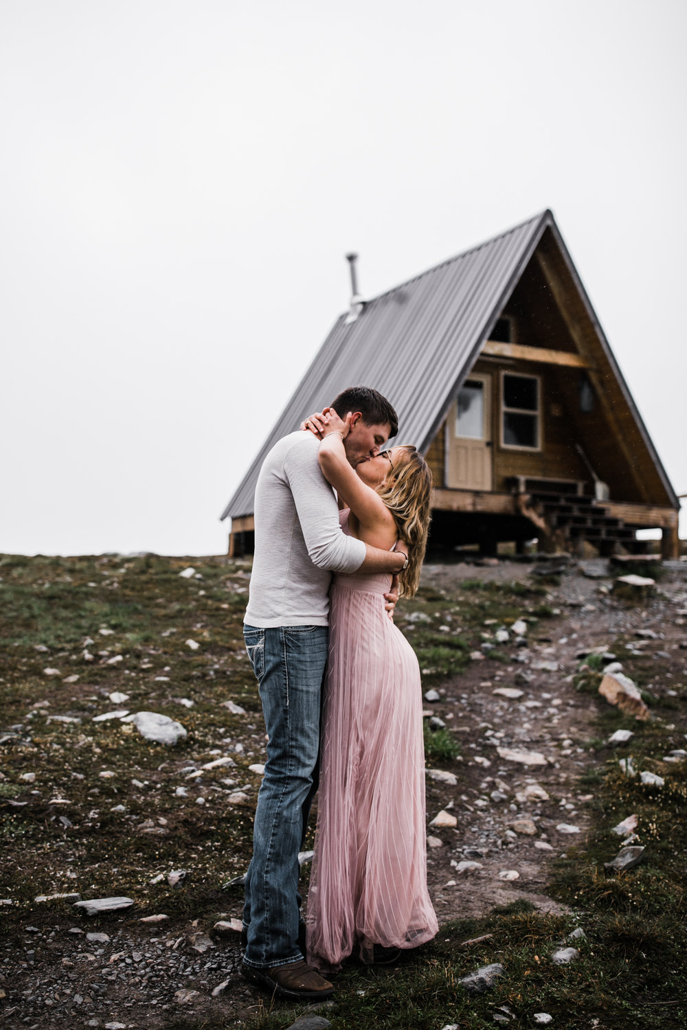 adventure engagement session in alaska | alyeska, girdwood elopement photographer | alaska destination wedding photographer | the hearnes adventure photography