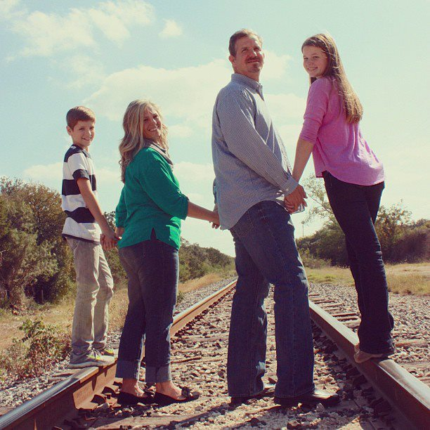 My very first paid gig...are you even a photographer if your first photo isn't a family on railroad tracks? PS. Never do this...railroad tracks are VERY dangerous. I clearly didn't know any better.