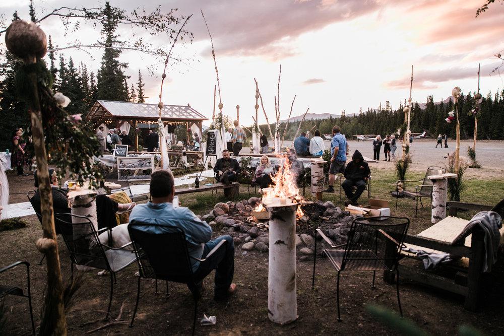 morgan + evan's intimate wedding on the denali airstrip   alaska destination wedding near Denali National Park and Preserve   the hearnes adventure photography