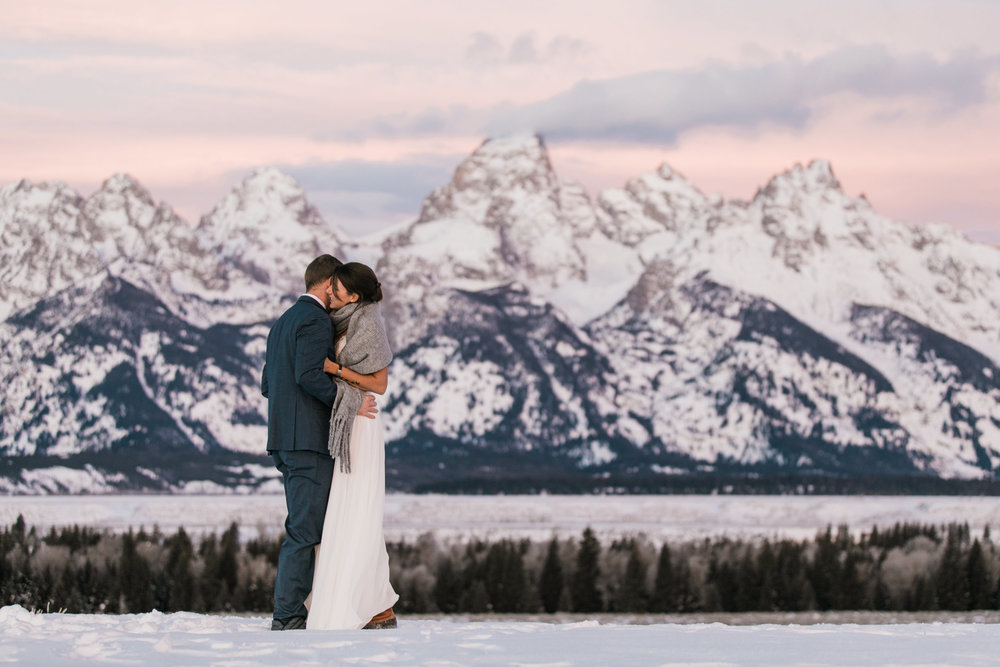 adventure elopement inspiration in grand teton national park | jackson hole engagement session | the hearnes adventure wedding photography