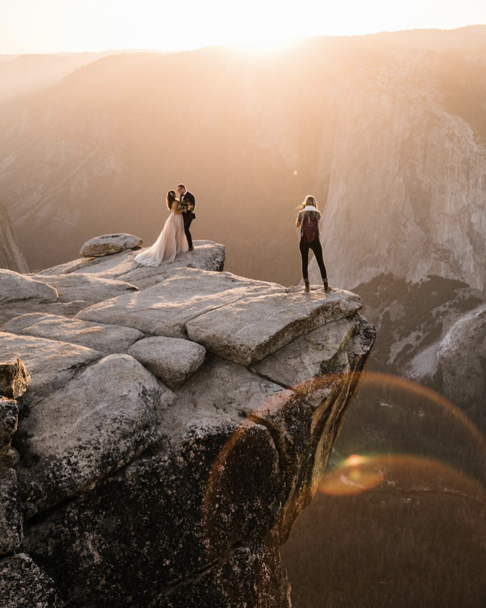 yosemite national park adventure wedding photographer