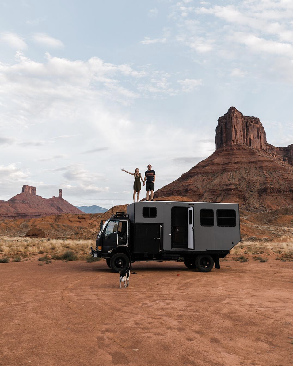 over land vehicle in moab utah