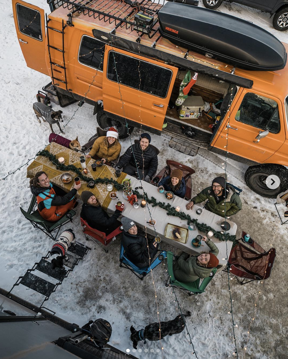 best friends van life party with brianna madia in utah