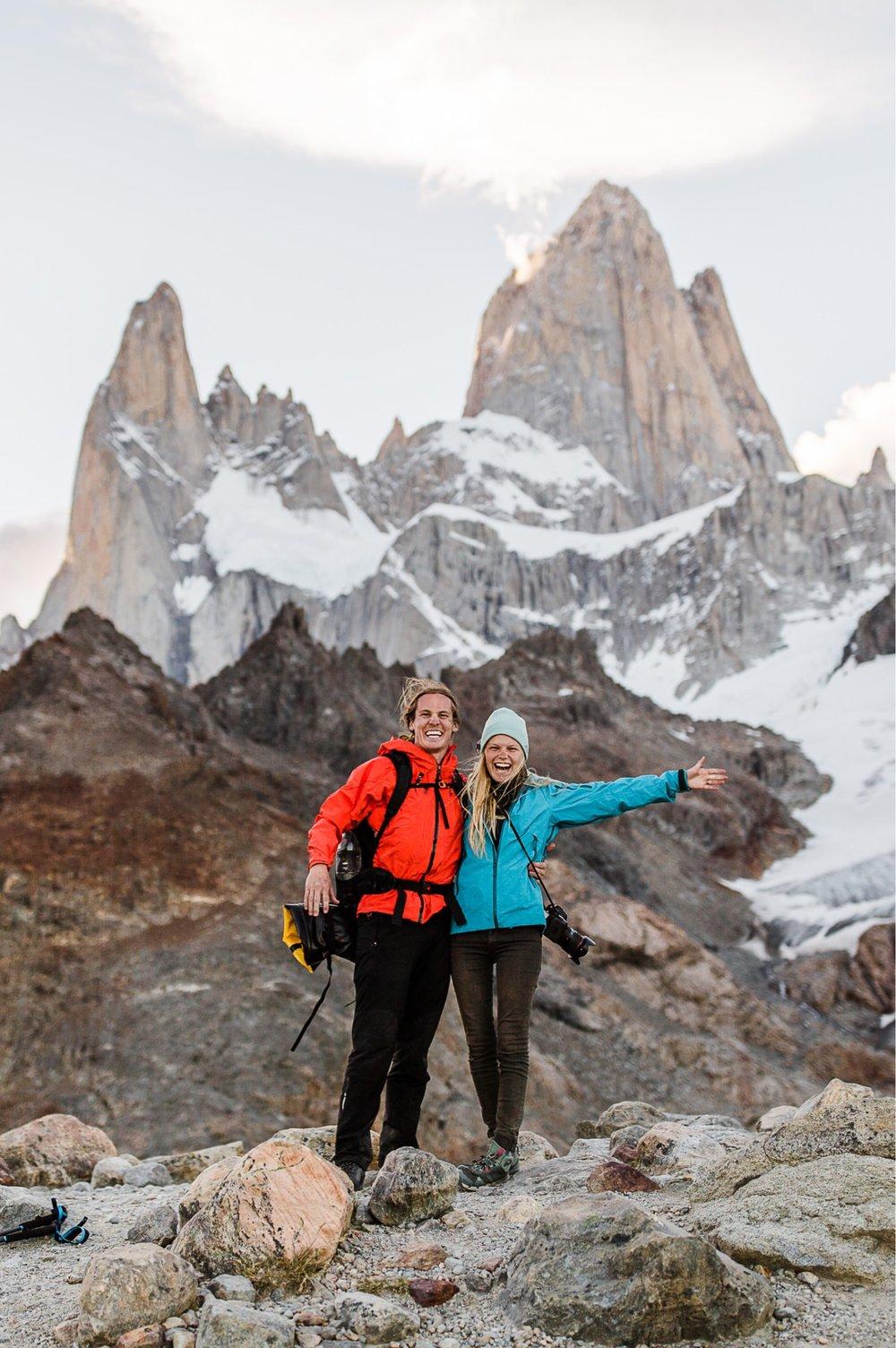 patagonia adventure wedding photographer