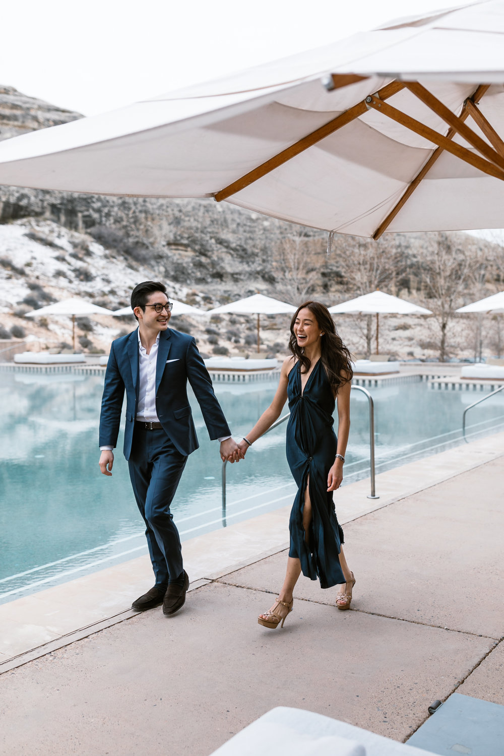 Amangiri offers a luxurious location for a destination elopement and honeymoon combination
