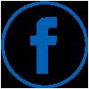 Free Social Media Facebook  Icon Black circle ring.png