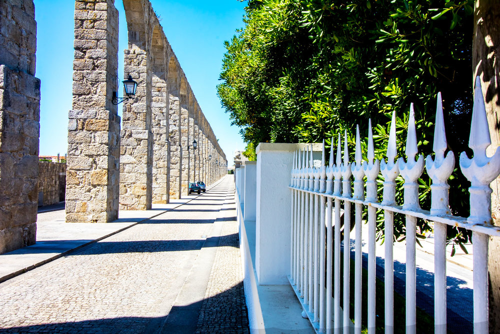 1. 999 Arches  This aqueduct, running from a spring in the countryside to the monastery in Vila do Conde, has 999 arches. This number was thought to be holy by those who constructed it in the 17th century.