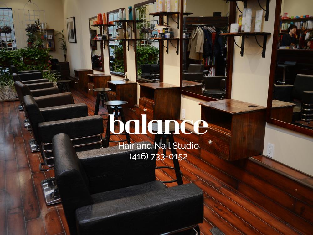 Welcome — Balance Hair & Nail Salon