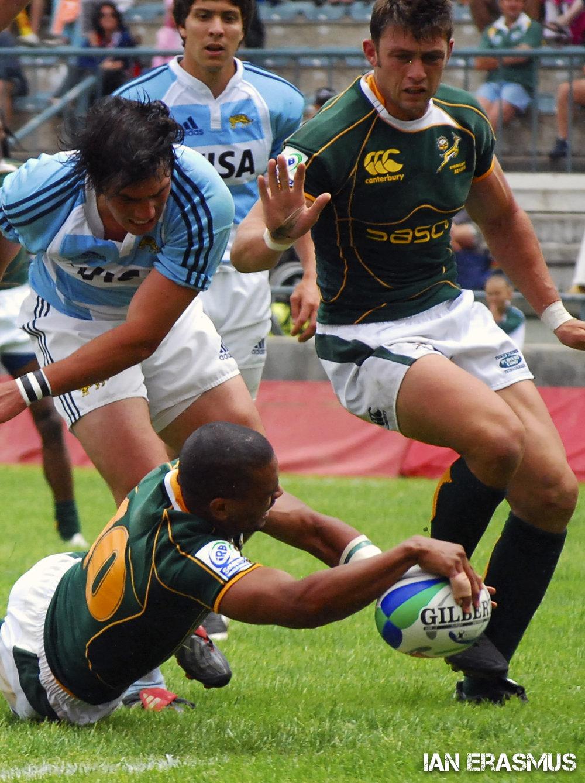 Fabian Juries scores - South Africa vs Argentina