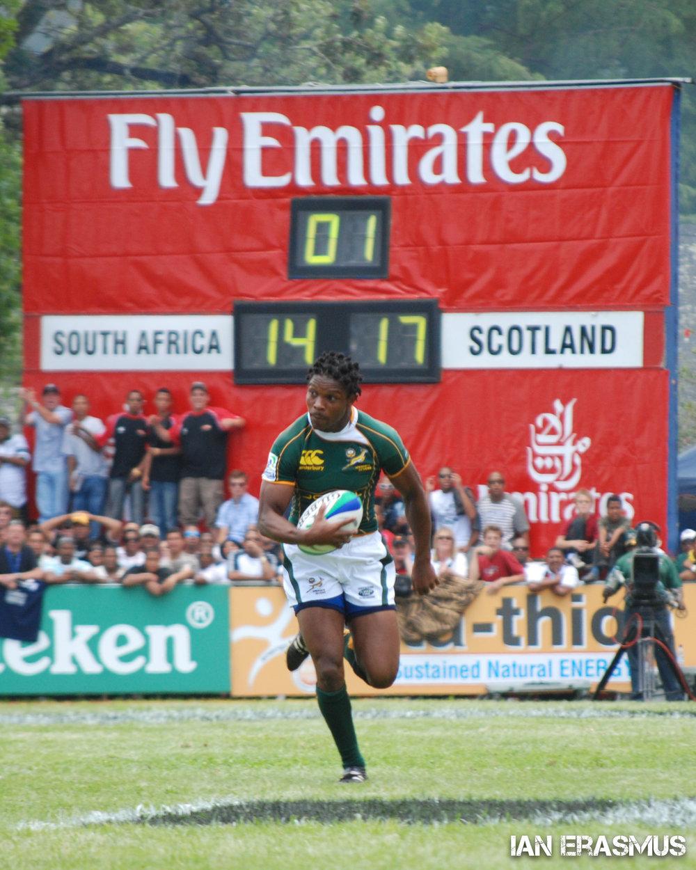 Vuyo Zangqa - South Africa vs Scotland