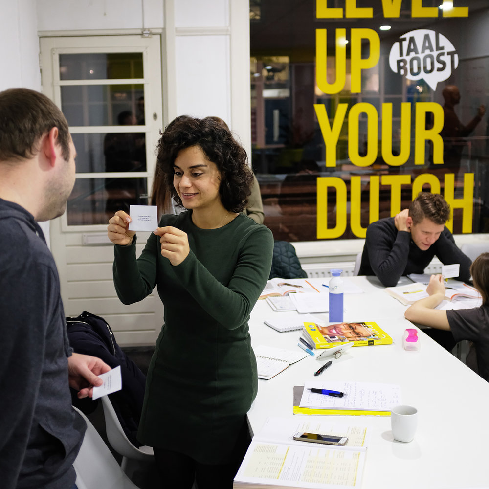 INTENSIVE DUTCH GROUP COURSEs - MONDAY TO FRIDAY 9.00 TO 14.30+ SATURDAY 10.00 TO 15.3030 teaching hours / 6 days