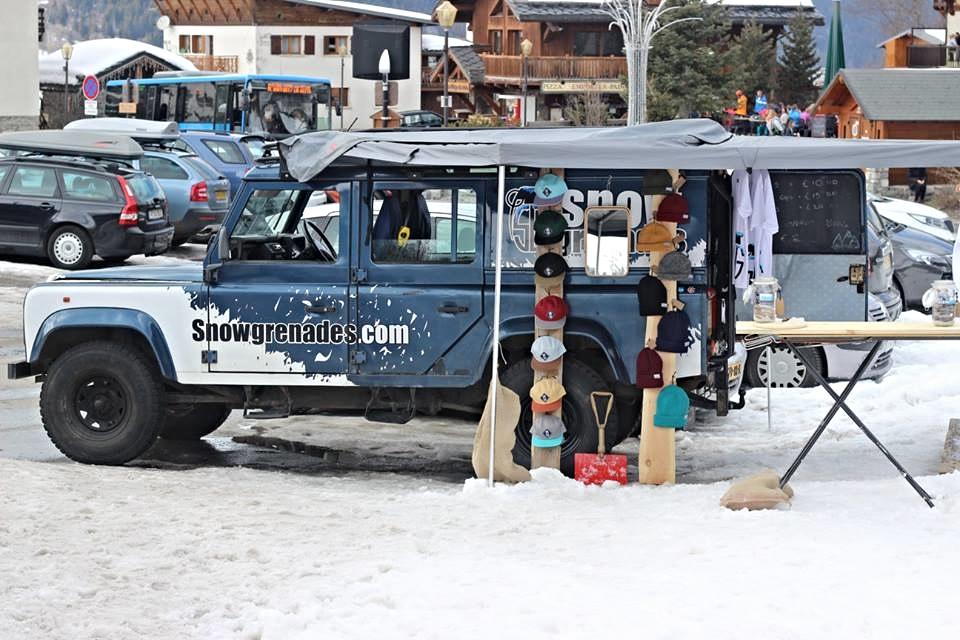 Meribel Village; Truck shop!