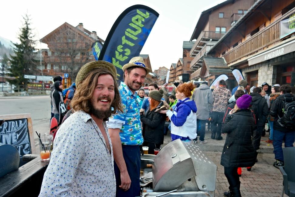 Meribar; Piste Bash Festival, outdoor BBQ!