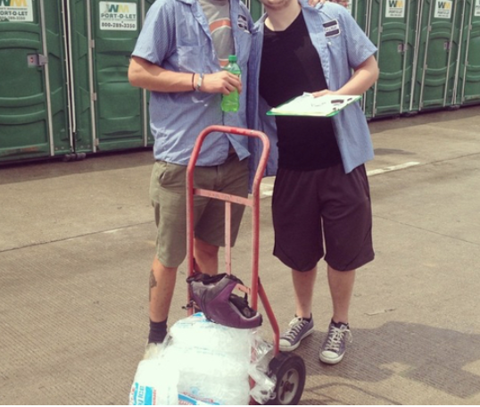 "Meet The Lollapalooza ""Ice Man"""