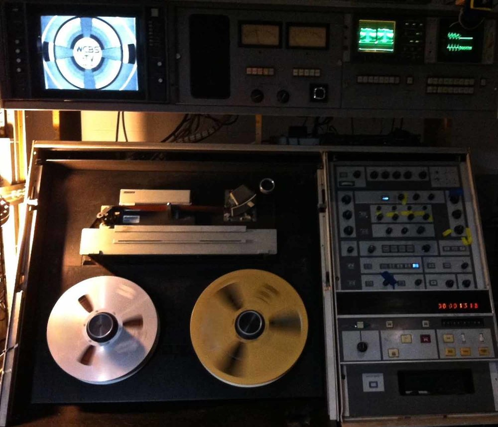 The Ampex AVR-1, the BEST in two-inch quad transfers!  NTSC PAL SECAM