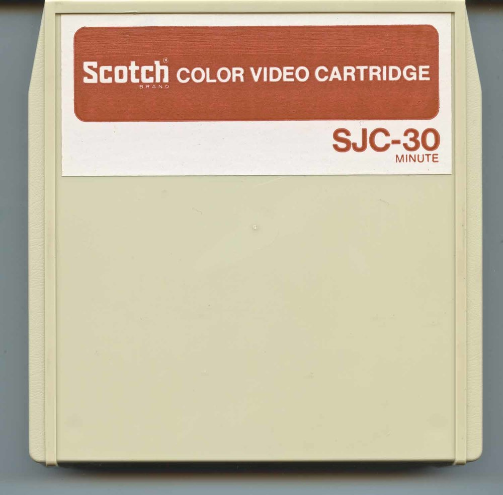 "1/2"" Video Cartridge"