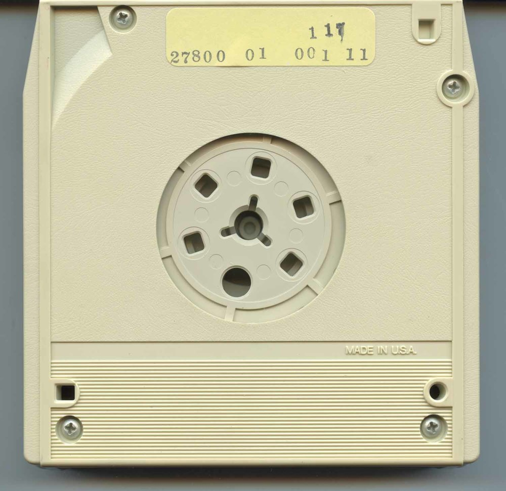 Underside of Cartridge