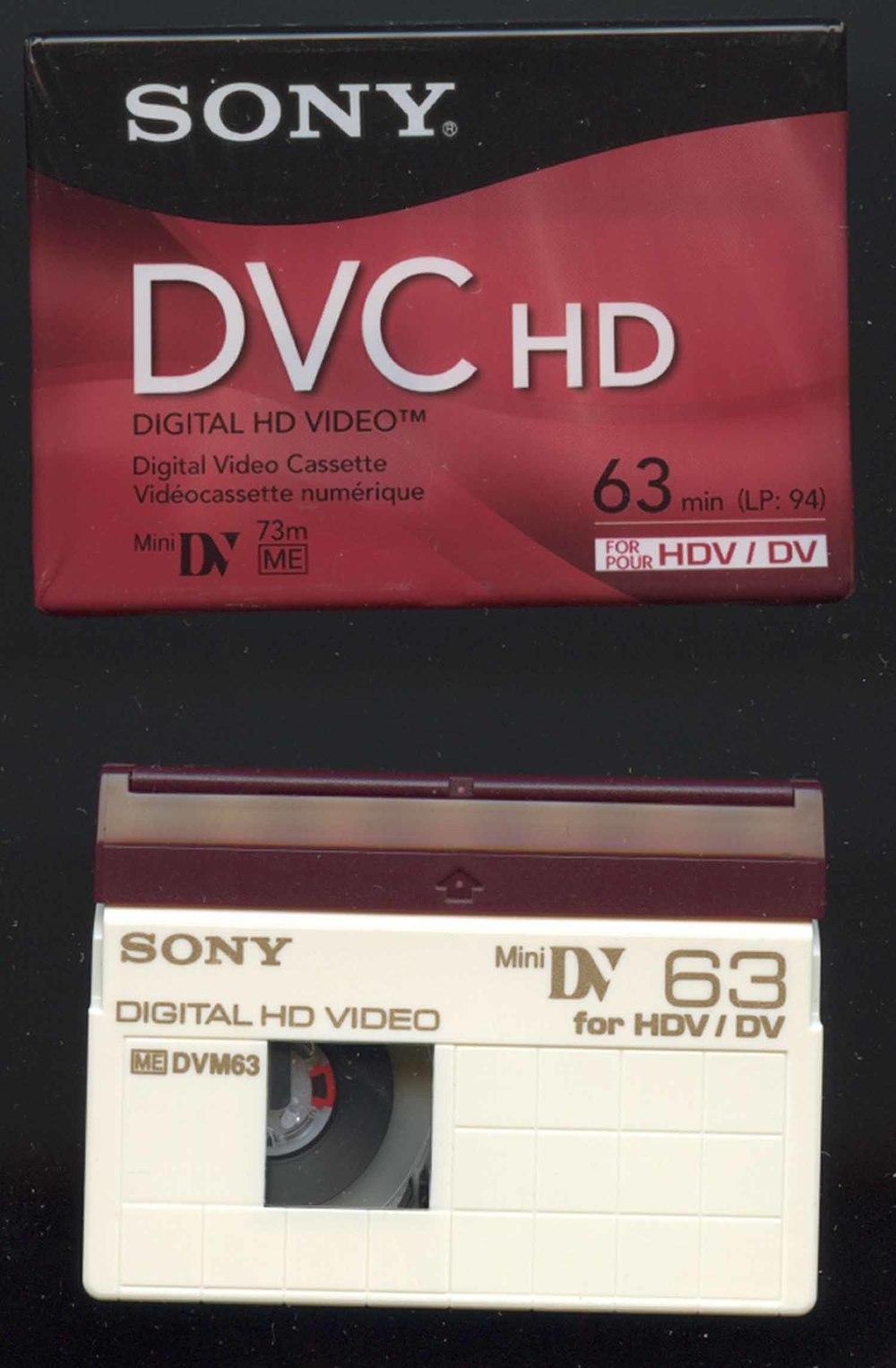 miniDV HD