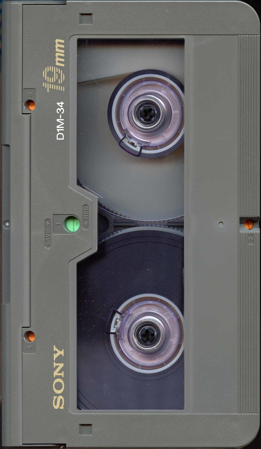 D-1 Cassette