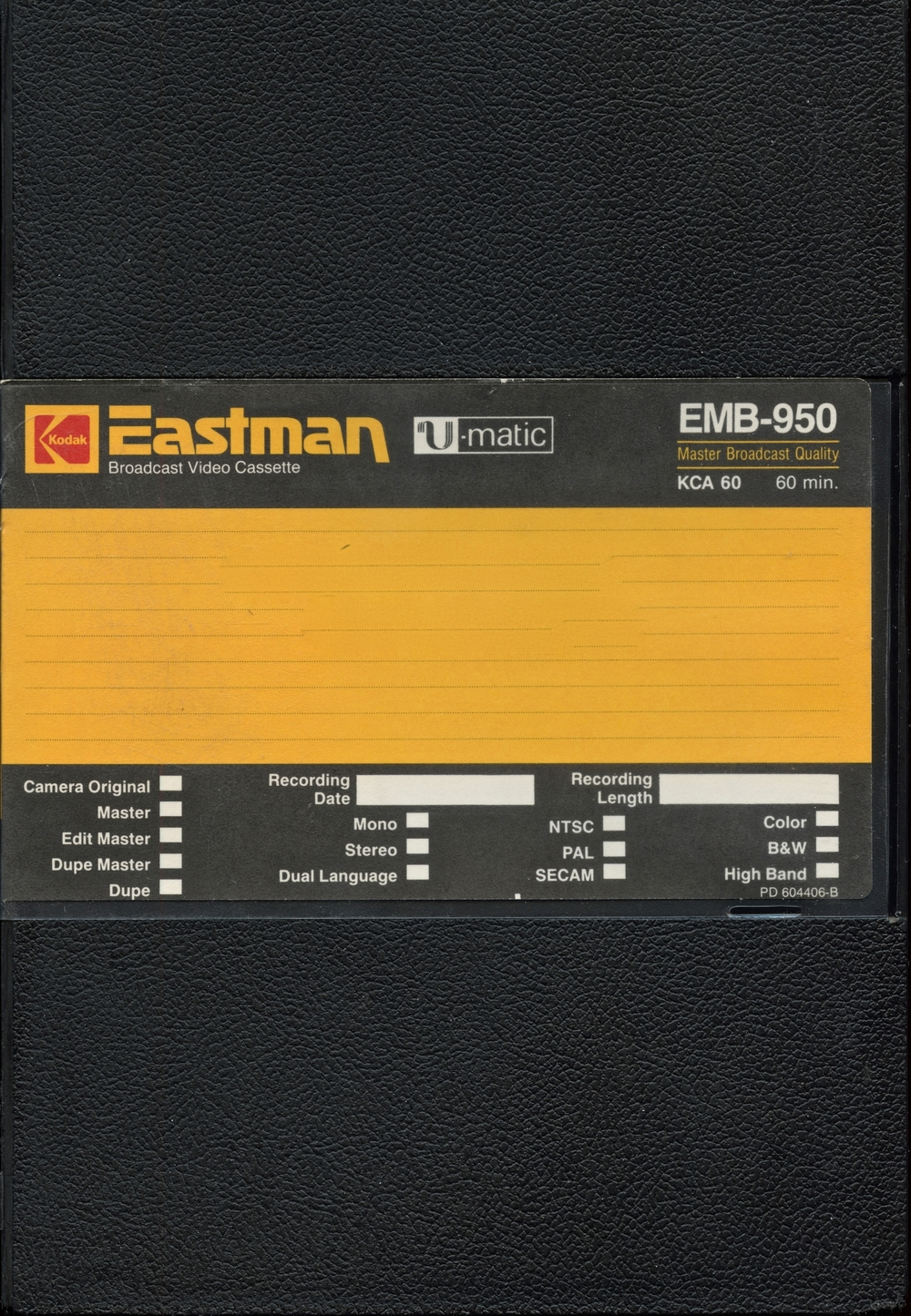 Eastman KCA-60 Umatic