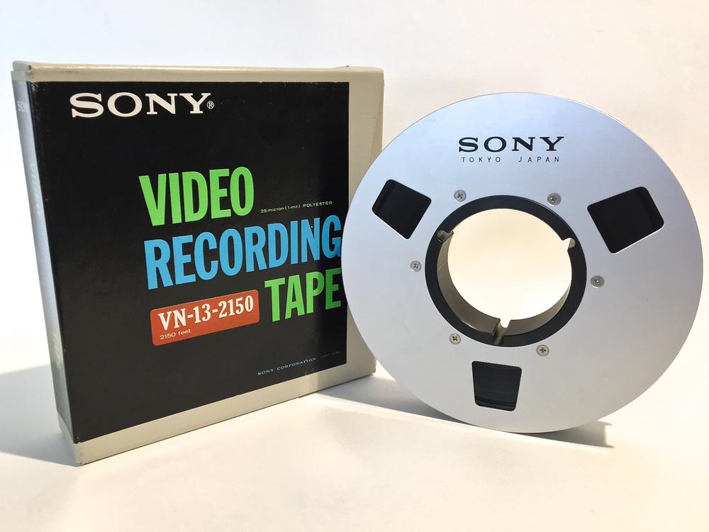 """Sony 1"""" for IVC VTR"""