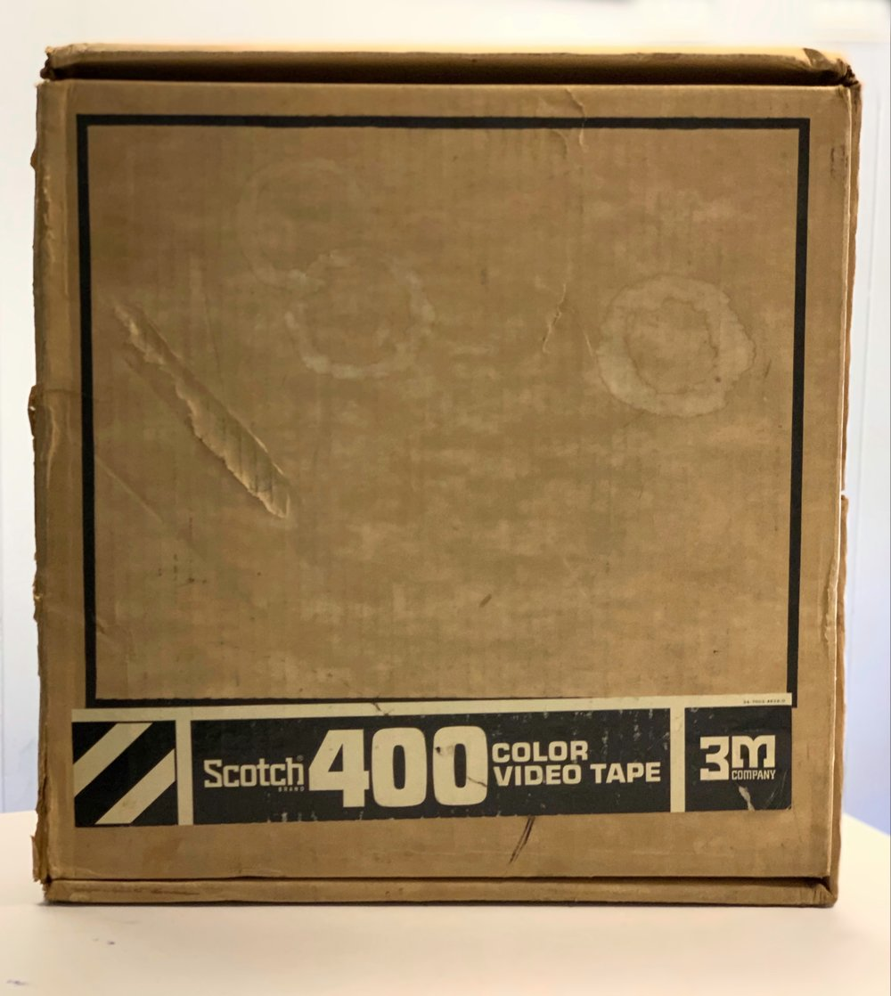 "2"" 3M Scotch 400 cardboard shipper"
