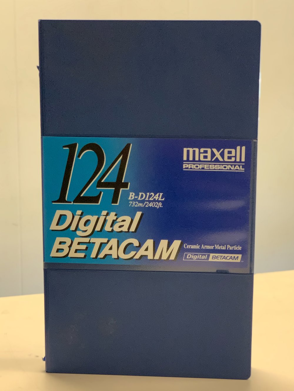 Maxell DigiBeta B-D124L Cassette