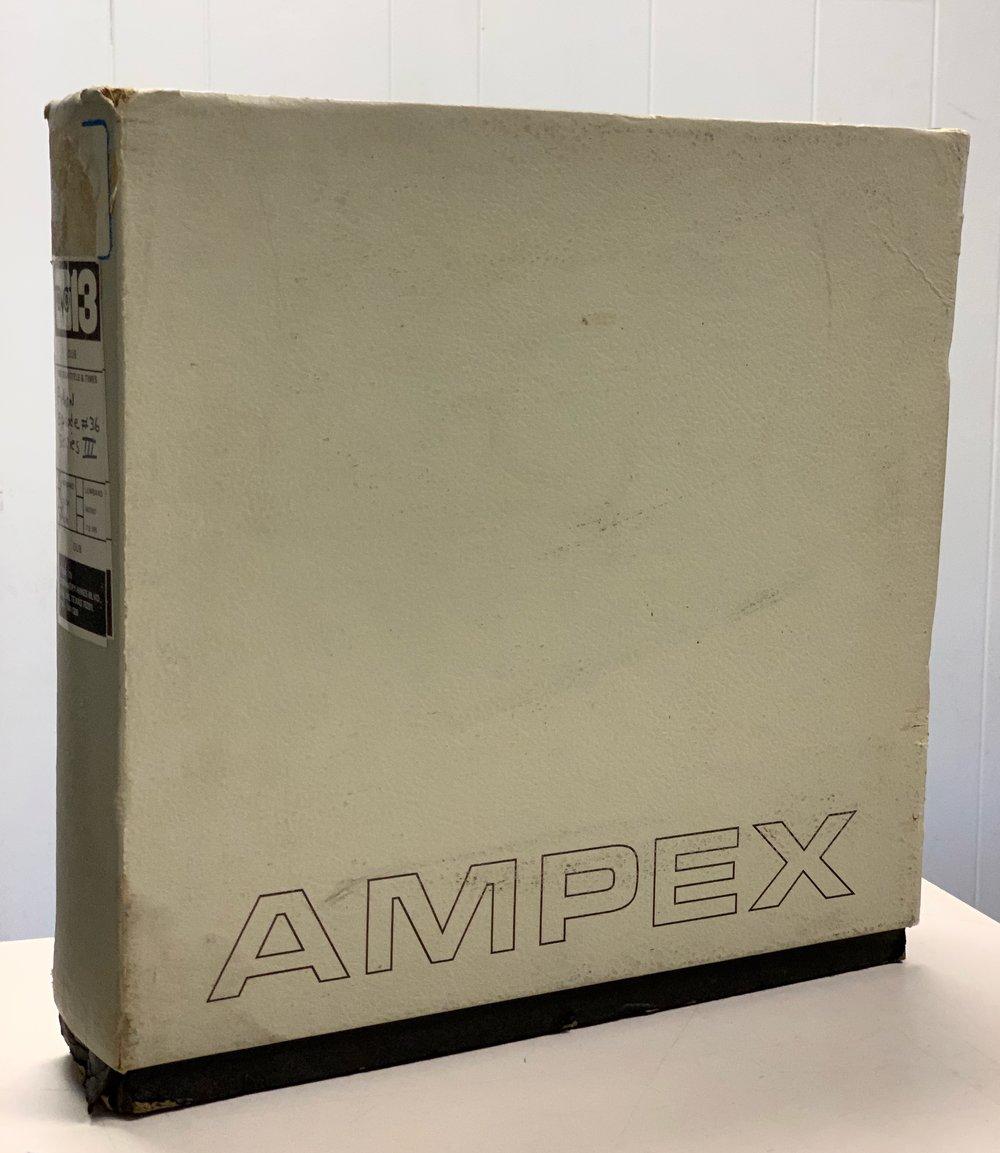 """2"""" Ampex cardboard shipper"""
