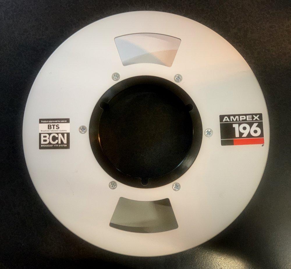 1 inch Type B Ampex 196 BCN