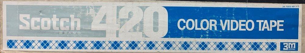 3M 420 2 inch label