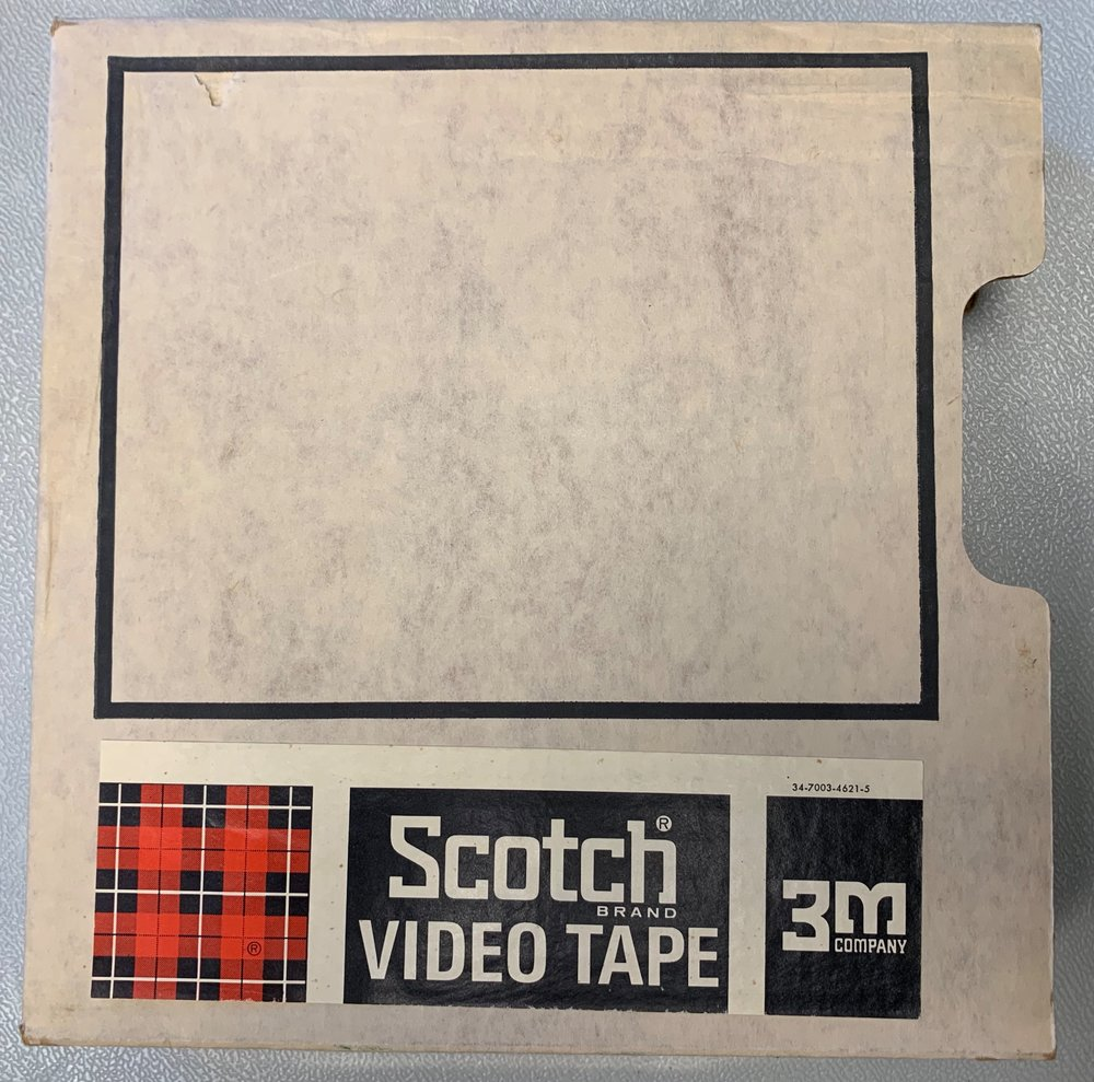 3M Scotch 1 inch cardboard box