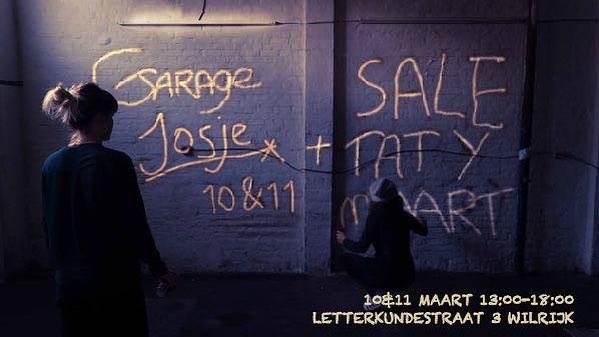 🎒👙Newsflash 👙🎒 Op 10 & 11 maart houden @josjecoos en ik een Garage Sale. Heb je zin om onze kleren te shoppen?Always Welcome! 👛🕶🧢🧣👗🥂#josjeentatygaanuitdekleren #closetsale #levispaint There's always an excuse for shopping.😉