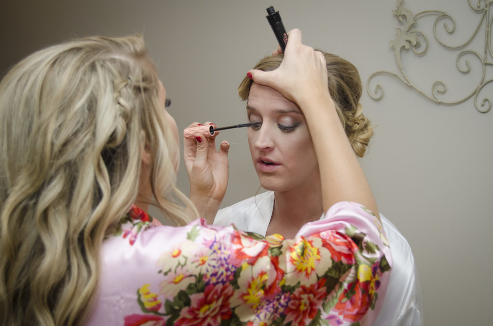 #brideordie When it comes to touch ups, Brides always come first!