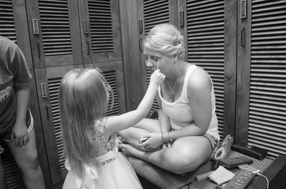 Of course you can let her mini me try it first.
