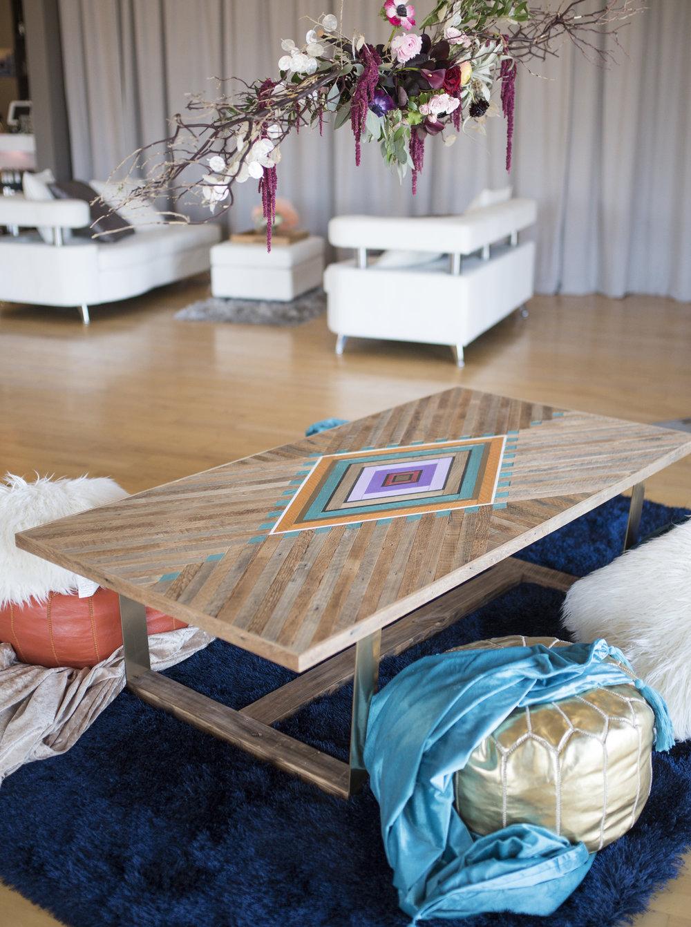 Custom Wedding Table