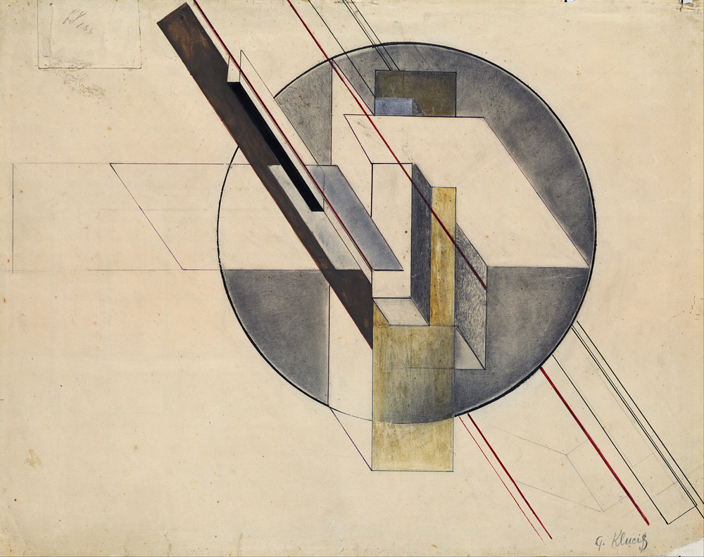 Construction  , 1921.   Latvian National Museum of Art  .