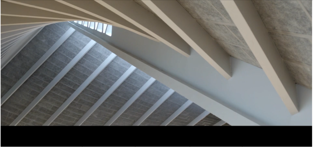 Screen Still From Fear and Love,  A gonzo collaboration with the Design Museum and John Pawson, click to watch the video.