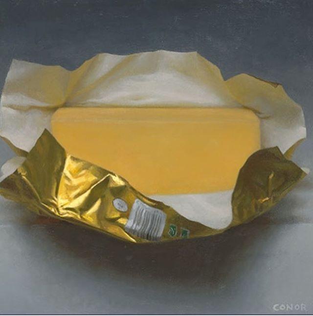 Butter portraits @conorwalton70 @kaytenschmidt #portraits #art #contemporary