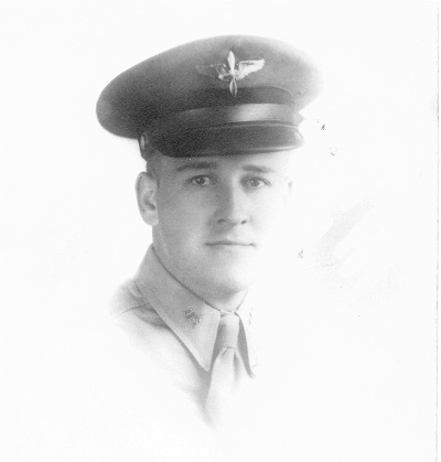 Maynard L. Jones, Aviation Cadet Date and location unknown Townsend Studio, Des Moines, Iowa