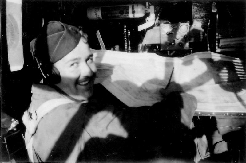 Maynard L. Jones in the navigator position.