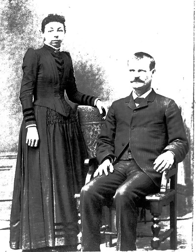 Mary and Spencer Jackson (Jackie) McGuire Location and date of photogram unknown