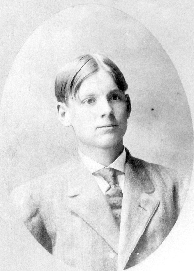 Harley Garrett Macksburg High School Gradation, circa 1910