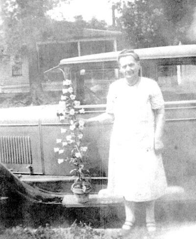 Undated photo of Ella Barkus, Louis' mother