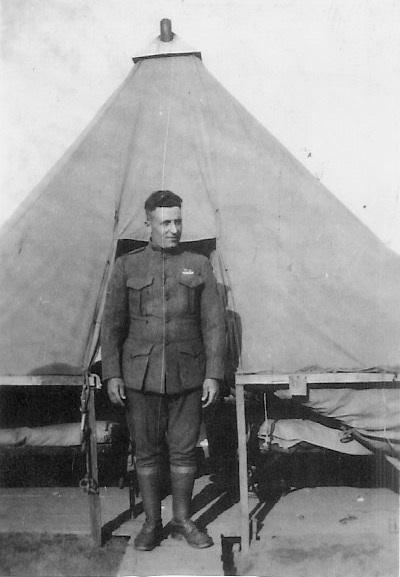 Louis A Barkus, USMC France, 1918