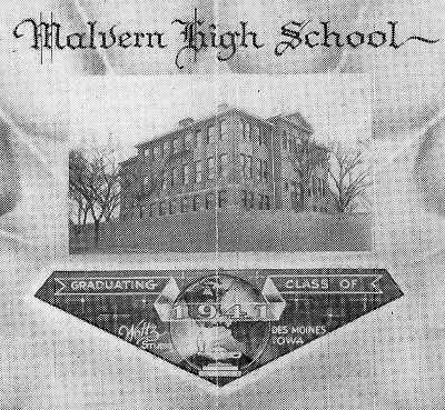 Malvern High School Graduating Class of 1941
