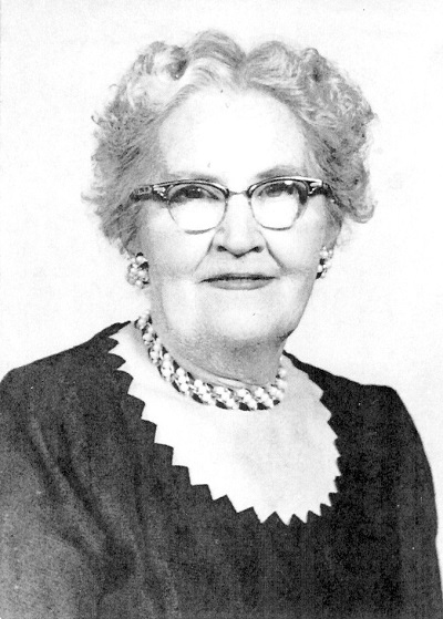 Edith Barkus Undated photo, possibly about 1957