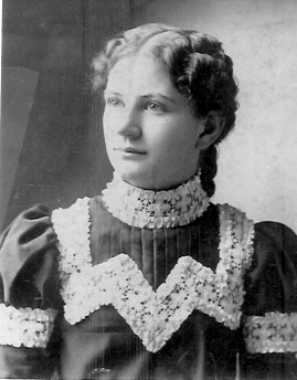 Undated photo of Elida Assumed to have been taken prior to her marriage to William Charles Kreie.