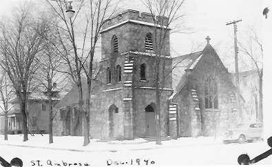 Saint Ambrose Episcopal Church, Antigo, Wisconsin Family church, 1940